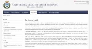 Universidad de Ferrara