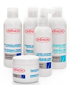 Productos para el tratamiento de la grasa del cabello marca Svenson