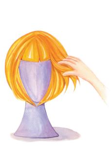 mantenimiento peluca