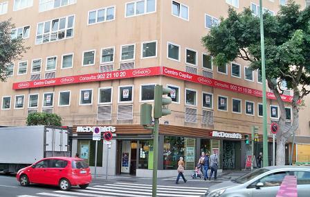 Centro Svenson Fachada LasPalmas