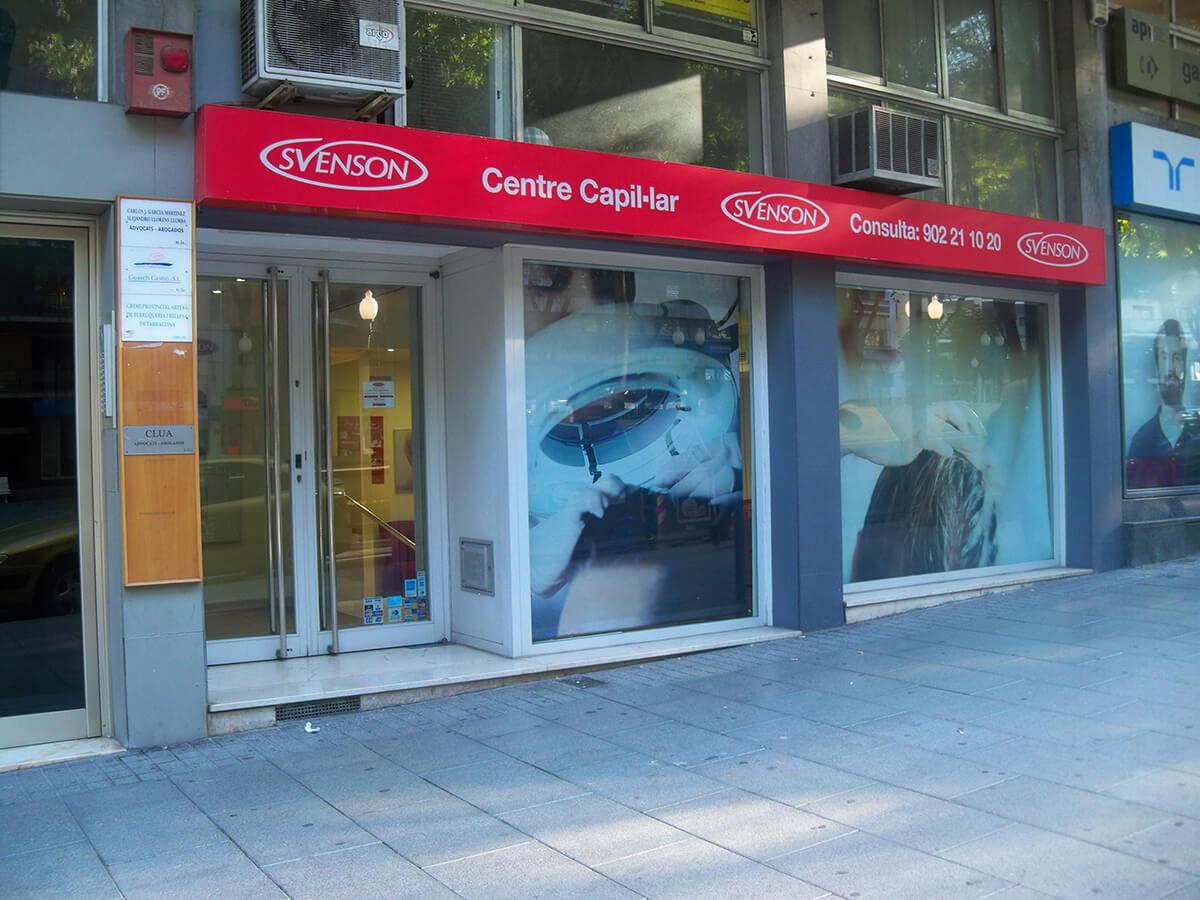 Centro Svenson Fachada Tarragona