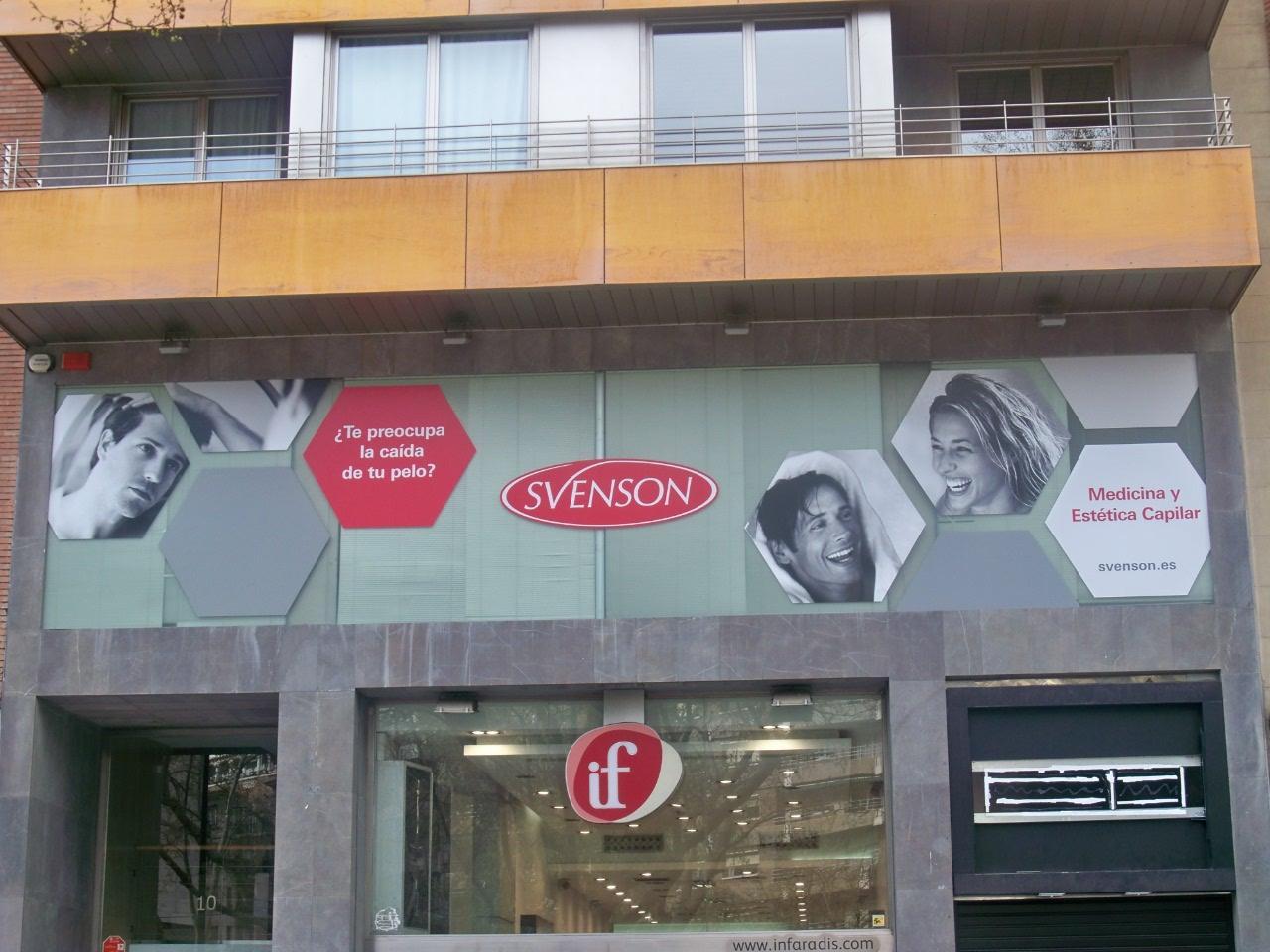 Centro Svenson Fachada Zaragoza