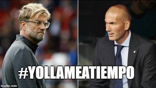 Pelo de Klopp vs. Calva de Zidane