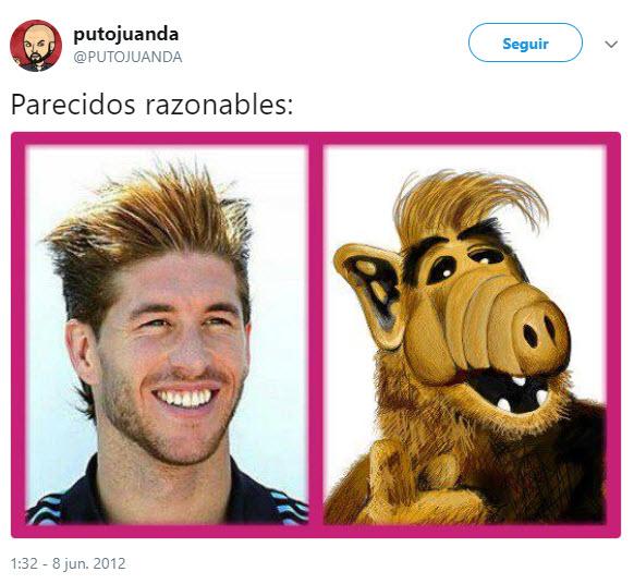 Comparación Sergio Ramos vs. Alf